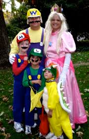 Mario Princess Peach Halloween Costume Photo Album