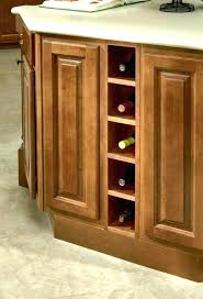 kitchen cabinet with wine glass rack undermount wine glass rack kyubey