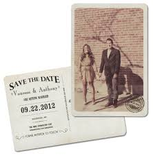 vintage save the date etsy vintage save the date mn wedding