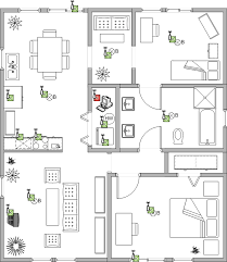 residential building plans ensure interoperability of the residential electronic devices