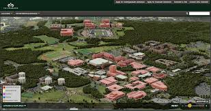 Central Michigan University Campus Map by Graphical Layers On Interactive Campus Maps