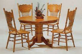 round oak kitchen table artistic kitchen tables and chairs round for 6 person at country