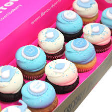 baby boy box cupcakes london