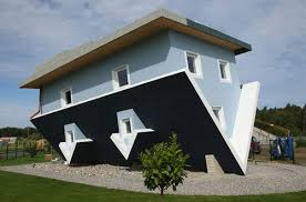 different house designs incredible upside down house even inside design swan