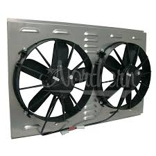 electric radiator fans and shrouds northern radiator dual high cfm 12 electric fan shroud 17 3 8