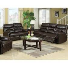 Brown Leather Sofa And Loveseat Genuine Leather Recliner
