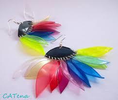 plastic bottle earrings 11 diy jewelry from plastic bottles ideas