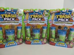 trash pack junk germs series 7 trashies opening toy review