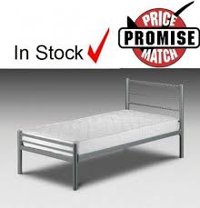 alpen small single bed 2 ft 6 single metal beds 2 ft 6 dial a