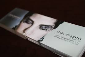 fashion art makeup elegance business cards