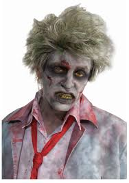 Scary Zombie Halloween Makeup by Business Man Zombie Wig Scary Zombie Costume Accessory