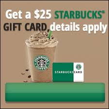 starbuck gift card deal get a 25 starbucks gift card expired