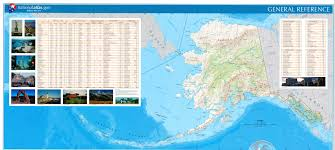 Alaska Weather Map by