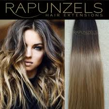 rapunzels hair extensions remy dip dye ombre stick tip i tip micro ring human hair