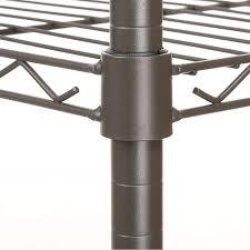 3 Shelf Wire Rack Aliexpress Com Buy Homdox Large Portable 3 Tier Wire Shelving