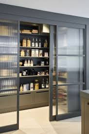 glass kitchen cabinet doors uk 21 pantry ideas larder cupboard ideas for every kitchen