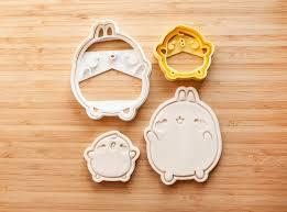 molang and piu piu cookie cutter