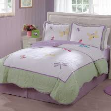 Dragonfly Bedding Queen Amazon Com Dragonfly Butterfly Quilt Set Twin Home U0026 Kitchen