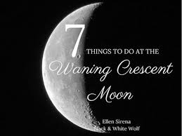 7 things to do at waning crescent moon with goddess adelphi