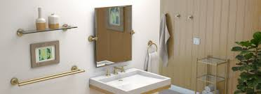 Bathroom Sink Accessories by Gatco Montgomery Suite Of Bathroom Accessories And Mirrors