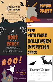 halloween invitations free printable free printable halloween invitation cards
