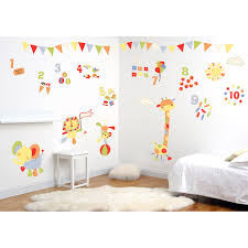 wall stickers kiddicare funtosee jolly jamboree room makeover kit