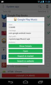 app to apk system app remover root android apps on play
