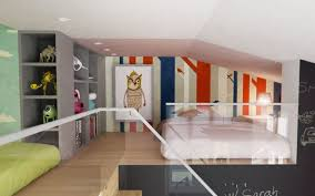 Kids Mezzanine Bedroom Interior Design Ideas - Bedroom mezzanine