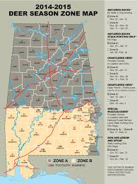 Alabama State Map New Deer Season Proposals Considered By State Regulators Al Com