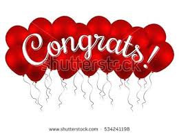 congratulation banner congrats templates congratulations banner with balloons win