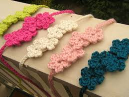 crochet flower headband pretty hair crocheted headbands crochet and free