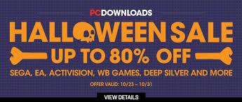 Halloween Sale Halloween Spooky Game Sales