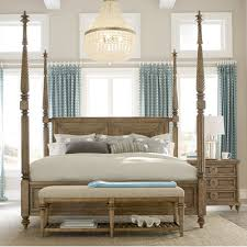 Four Poster Bed Frame Queen by Bay Isle Home Akrotiri Four Poster Bed U0026 Reviews Wayfair