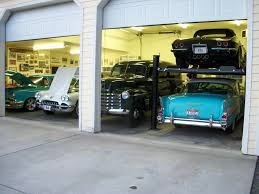 a one car garage thats fit for two the diamond plate approach