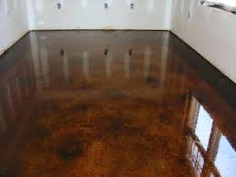 image of basement concrete floor paint epoxy concrete floor paint