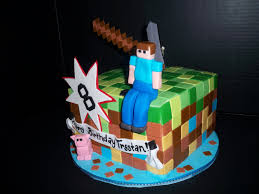 the making of a minecraft cake youtube