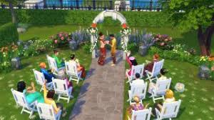 wedding arches on sims 3 plan a wedding in center park in the sims 4 city living