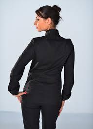 veste de cuisine pas cher noir veste cuisine femme vestes de cuisine