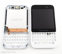 Lcd Q5 blackberry q5 front cover lcd touch white