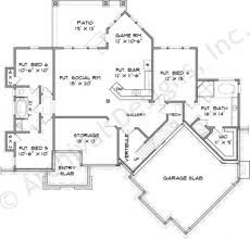 riverstone cottage retirement house plans rustic house riverstone cottage house plan daylight basement floor house plan basement