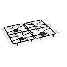 Ge 30 Inch Gas Cooktop Shop Ge Gas Cooktop White Common 30 In Actual 30 In At