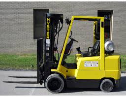S60xm 6000 Lb Quad Mast Cushion Forklift