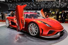 koenigsegg red koenigsegg heading to new york auto show with regera one 1