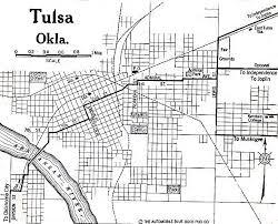 map of tulsa 1up travel historical maps of u s cities tulsa oklahoma 1920