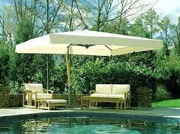 Big Patio Umbrella Large Offset Patio Umbrella Patio Umbrella 5 X 8 Rectangular