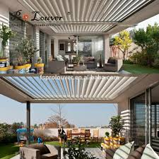 Motorized Pergola Cover by Outdoor Aluminum Sun Shade Outdoor Aluminum Sun Shade Suppliers