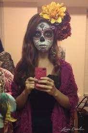 sugar skull costume diy sugar skull makeup conrad