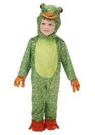 little frog child costume