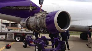 fedex boeing 727 jt8d jet engine removal youtube