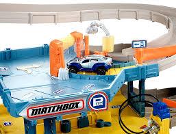 How Big Is A 3 Car Garage Amazon Com Matchbox 4 Level Garage Play Set Toys U0026 Games